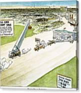 Teapot Dome Scandal, 1924 Canvas Print