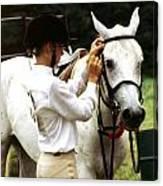 Teen Equestiran Canvas Print