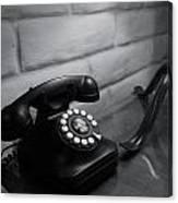 Telecommunications Canvas Print
