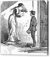 Telegram: Death, 1879 Canvas Print