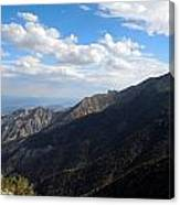 Telescope Peak And The Valley Canvas Print