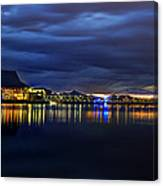 Tempe Arts Center At Sunset  Canvas Print
