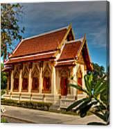 Temple Canvas Print
