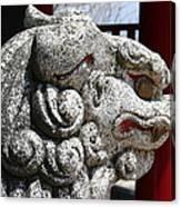 Temple Guard Canvas Print