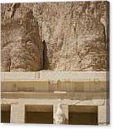 Temple Of Hatshepsut Canvas Print