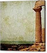 Temple Of Juno Canvas Print