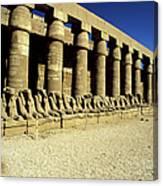 Temple Of Karnak, Luxor - Egypt Canvas Print