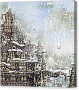 Temples Of The North Canvas Print