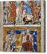 Temptations Of Christ Canvas Print