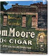 Ten Cent Cigar Canvas Print