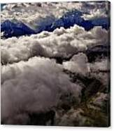 Ten Thousand Feet Over Denali Canvas Print