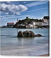 Tenby Harbour 1 Canvas Print
