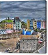 Tenby Harbour In Summer 2 Canvas Print