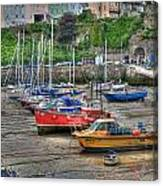 Tenby Harbour In Summer 3 Canvas Print