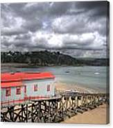 Tenby Lifeboat House Canvas Print