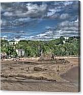 Tenby North Beach 2 Canvas Print