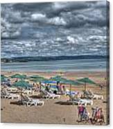 Tenby North Beach 3 Canvas Print