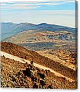 Tenerife Volcanic Landscape Canvas Print