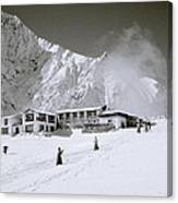 Tengboche Monastery In The Himalayas Canvas Print