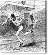 Tennis: Wimbledon, 1880 Canvas Print