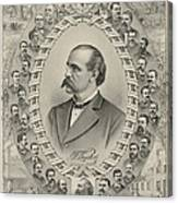 Terence Vincent Powderly 1849-1924 Canvas Print