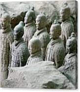 Terracotta Army Xi'an Canvas Print