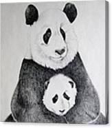 Terris Pandas Canvas Print