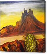 Tetakawi San Carlos Sonora Mexico Canvas Print