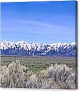 Teton National Park Panarama Canvas Print