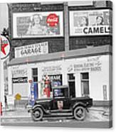 Texaco Station Canvas Print