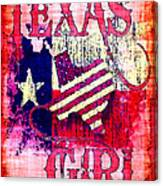 Texas Girl Canvas Print