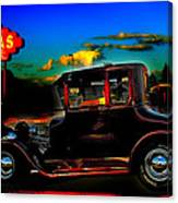 Texas Hot Rod Canvas Print