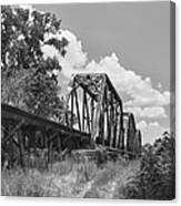 Texas Railroad Bridge Canvas Print