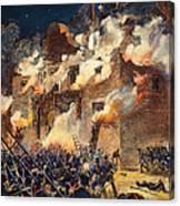 Texas: The Alamo, 1836 Canvas Print