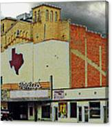 Texas Theater II Canvas Print