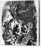 Texas: War Dance Canvas Print