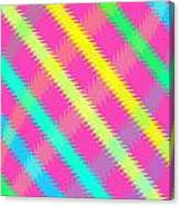 Textured Check Canvas Print