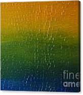 Textured Colors Canvas Print