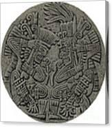 Tezcatlipoca And Huitzilopochtli Canvas Print