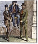 Thaddeus Stevens, 1868 Canvas Print