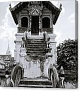 Thai Architecture Canvas Print