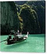Thai Long Tail Boat  Canvas Print