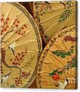 Thai Umbrellas 2 Canvas Print