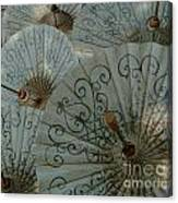 Thai Umbrellas 3 Canvas Print