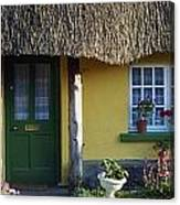 Thatched Cottage, Adare, Co Limerick Canvas Print
