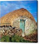Thatched Shed, St Johns Point, Co Canvas Print