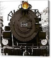 The 482 Durango To Silverton Canvas Print