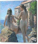 The Adriatic Sea Mmxi Canvas Print
