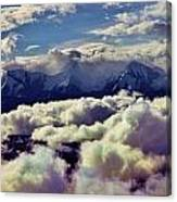 The Alaska Range Canvas Print