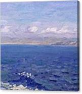 The Albanian Sea Canvas Print